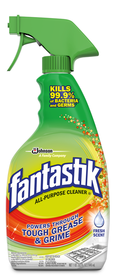 fantastik all purpose cleaner fresh scent
