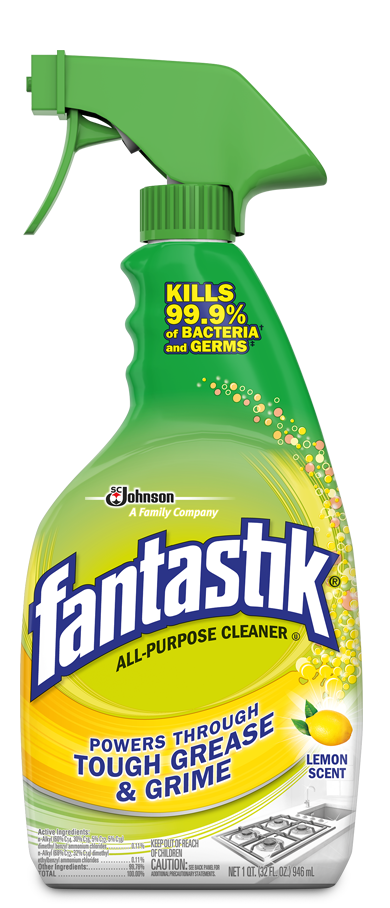 fantastik  all purpose cleaner lemon